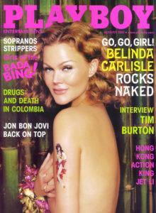 Belinda Carlisle poses naked for Playboy Magazine