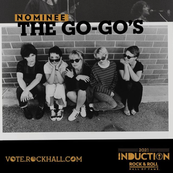 The Go-Go's Are Nominated For The Rock & Roll Hall of Fame!